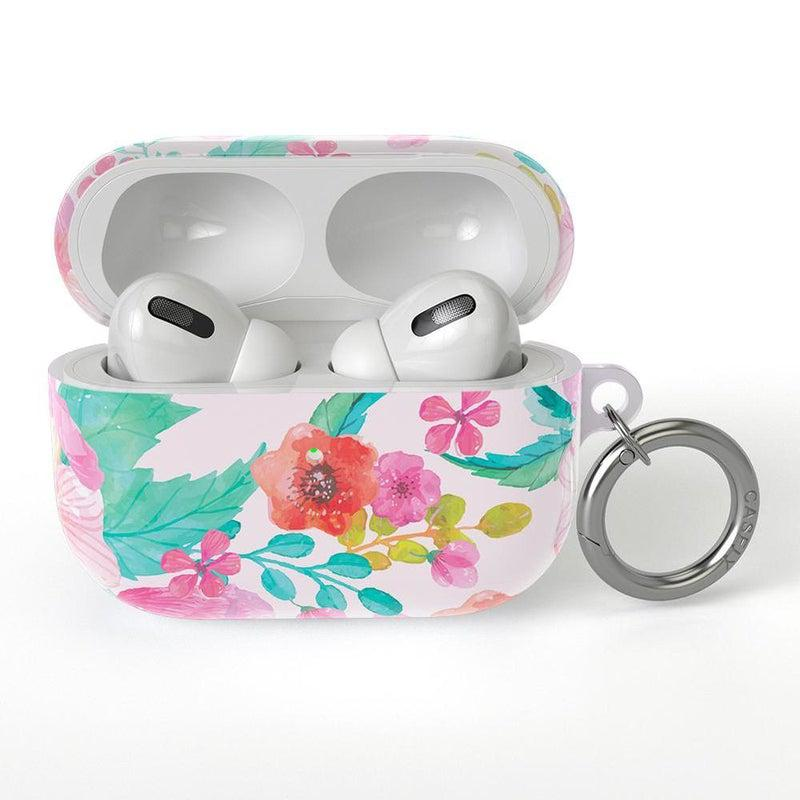 Out and About | Light Pink Floral AirPods Case AirPods Case CASELY AirPods Case