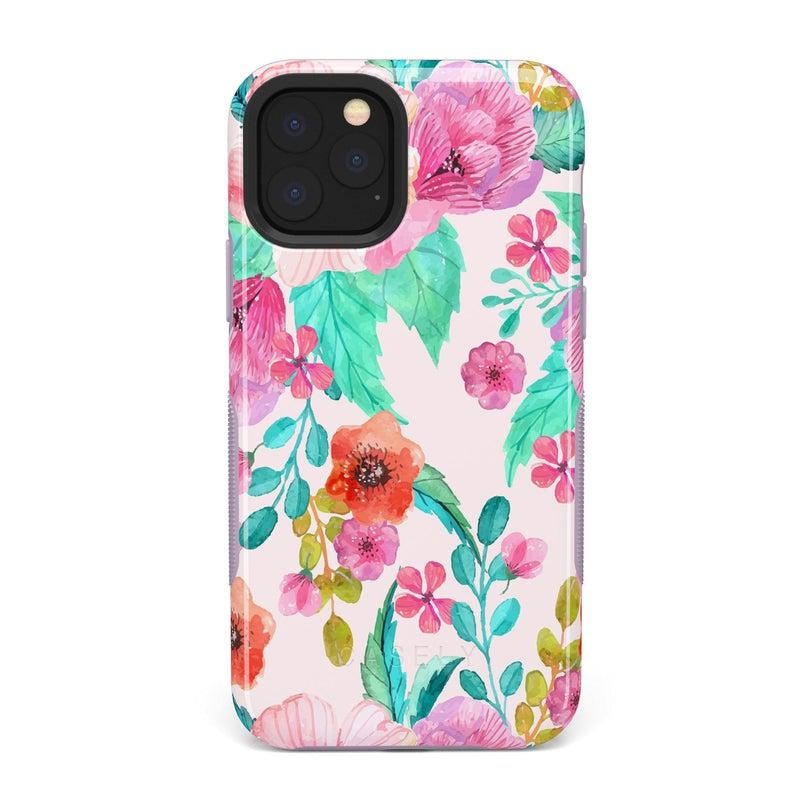 Out And About | Light Pink Floral Case iPhone Case get.casely Bold iPhone 11 Pro Max