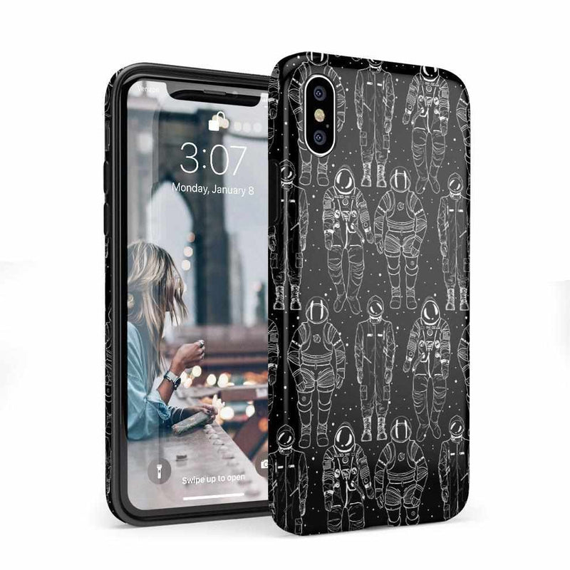 Out of this World Astronaut Case iPhone Case Get.Casely Classic iPhone X / XS