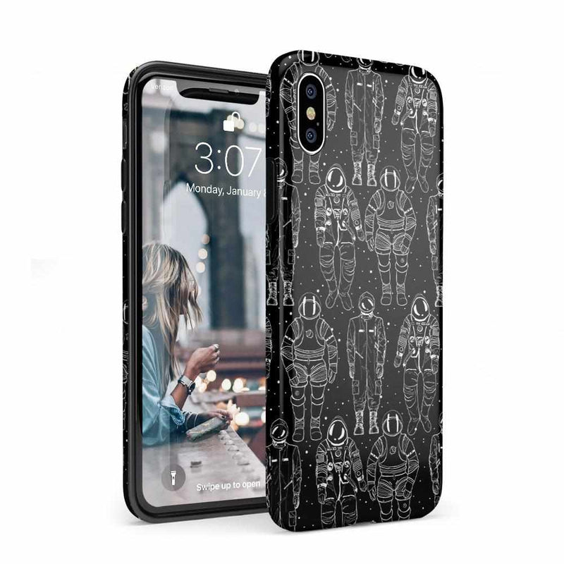 Out of this World Astronaut Case iPhone Case Get.Casely Classic iPhone XS Max