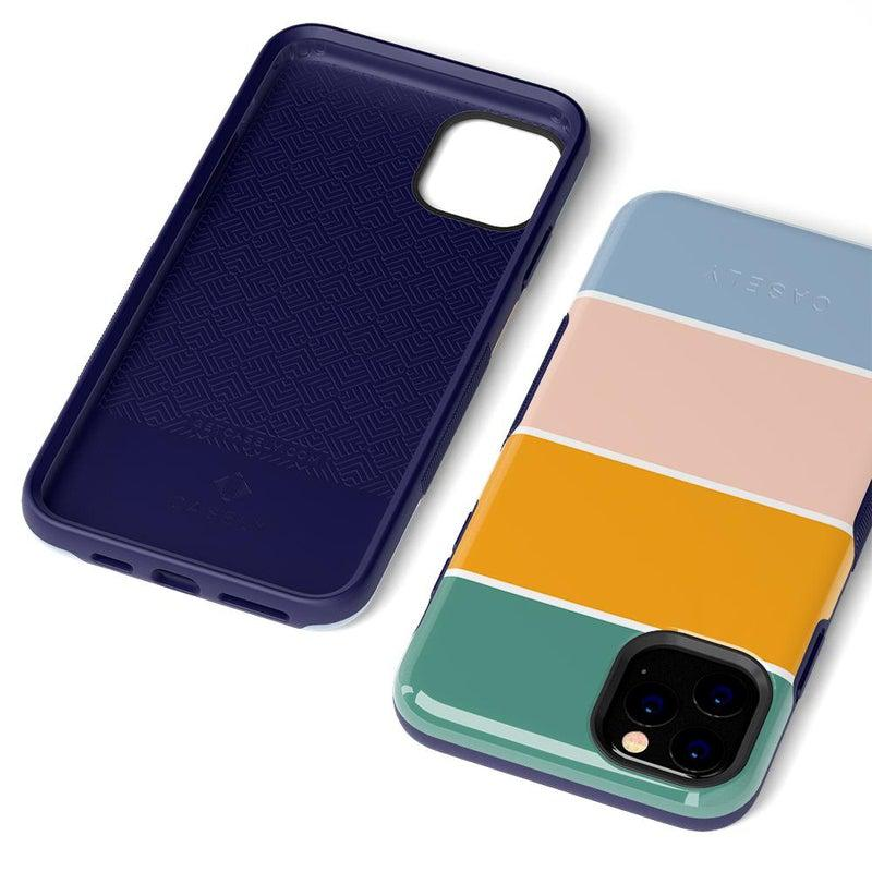 Paint The Town | Colorblock Stripes Case iPhone Case get.casely