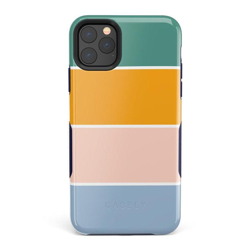 Paint The Town | Colorblock Stripes Case iPhone Case get.casely Bold iPhone 11 Pro Max