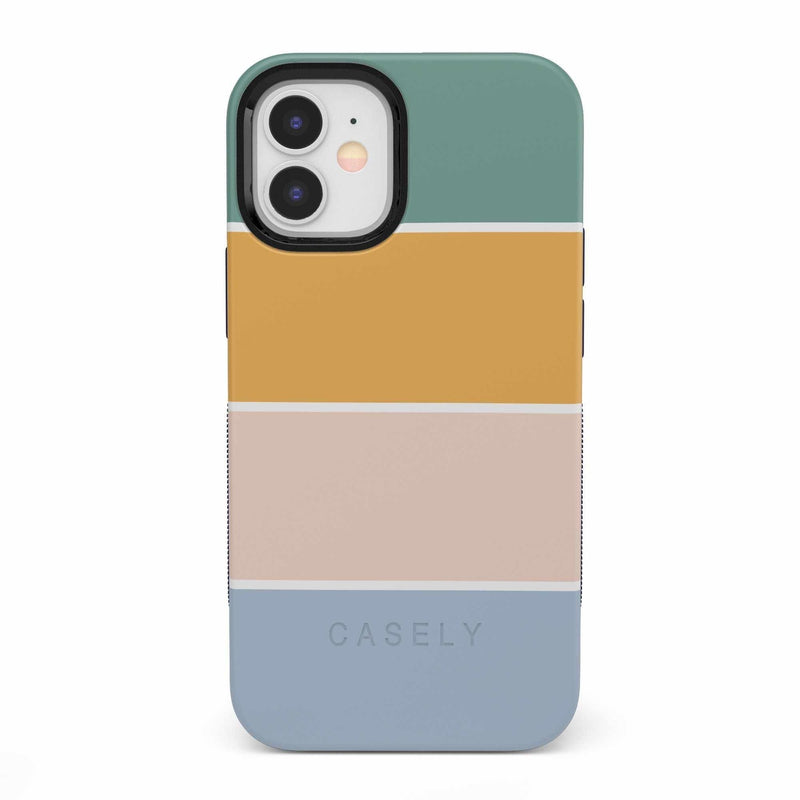 Paint The Town | Colorblock Stripes Case iPhone Case get.casely Bold iPhone 12 Mini