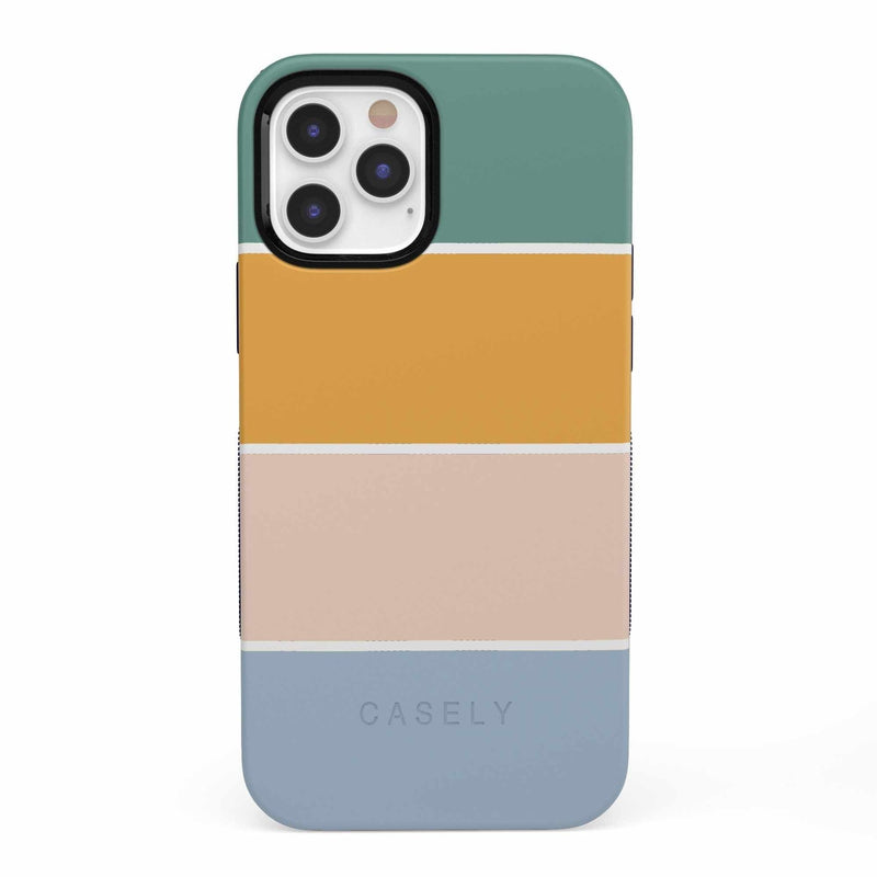 Paint The Town | Colorblock Stripes Case iPhone Case get.casely Bold iPhone 12 Pro