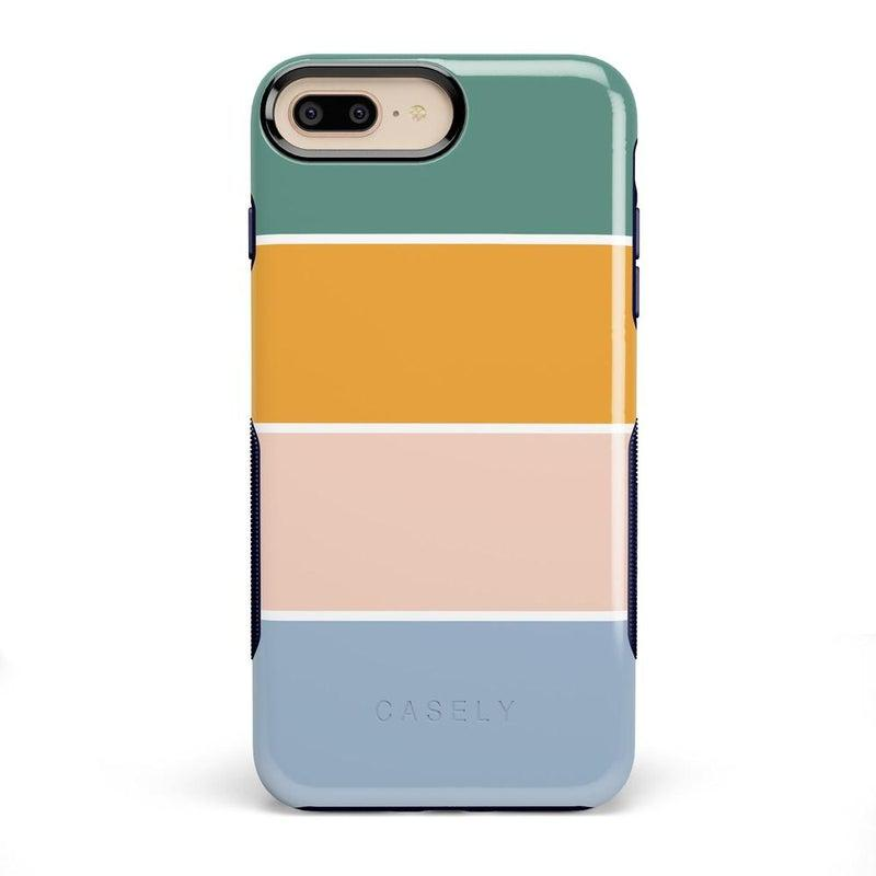 Paint The Town | Colorblock Stripes Case iPhone Case get.casely Bold iPhone 8 Plus