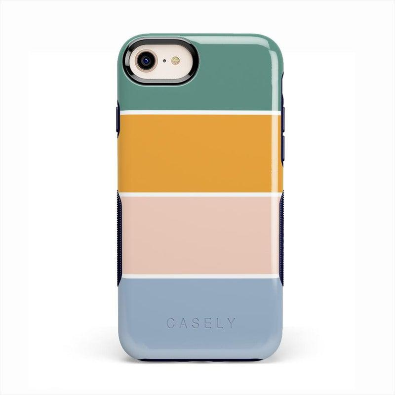 Paint The Town | Colorblock Stripes Case iPhone Case get.casely Bold iPhone SE (2020)