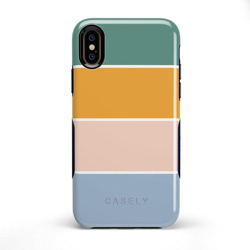Paint The Town | Colorblock Stripes Case iPhone Case get.casely Bold iPhone X / XS