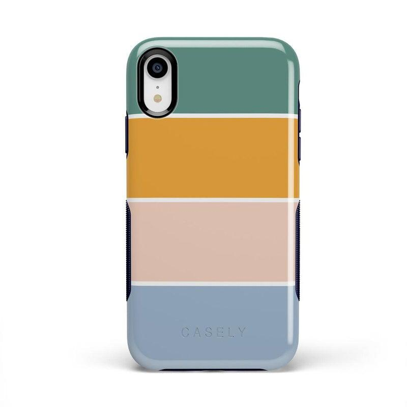 Paint The Town | Colorblock Stripes Case iPhone Case get.casely Bold iPhone XR