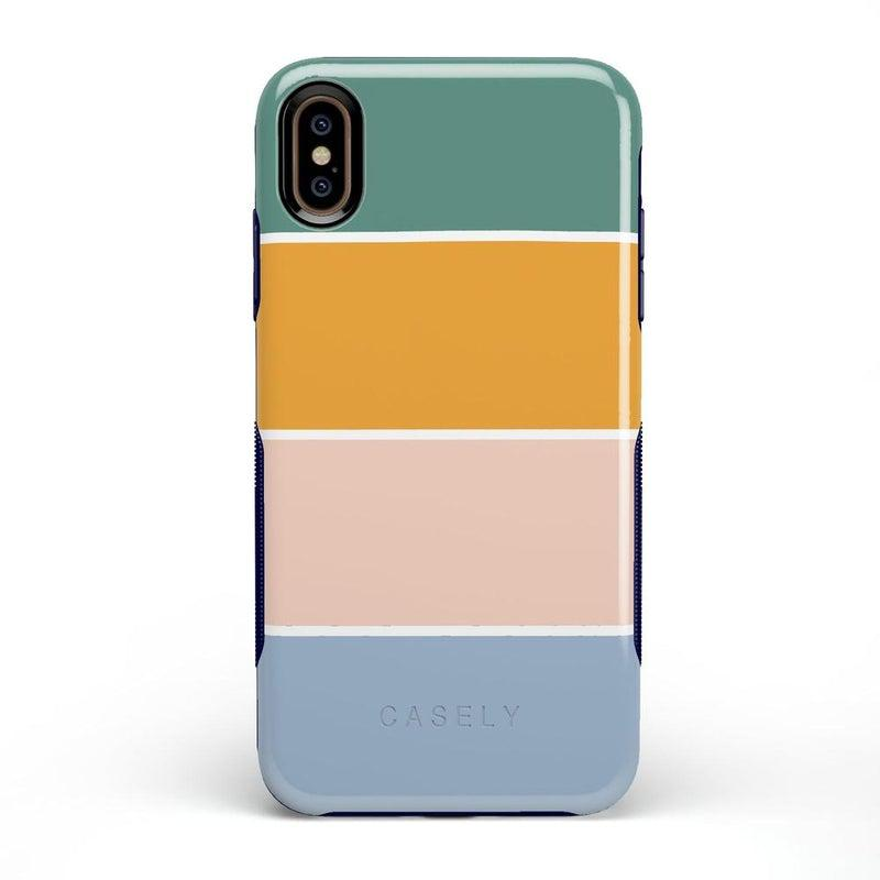 Paint The Town | Colorblock Stripes Case iPhone Case get.casely Bold iPhone XS Max
