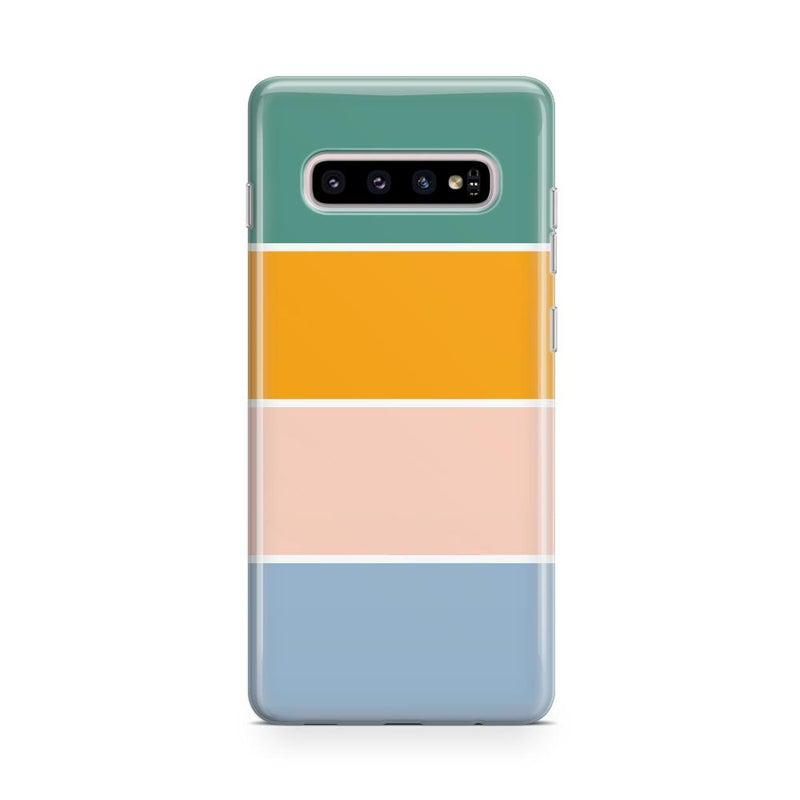 Paint The Town | Colorblock Stripes Case iPhone Case get.casely Classic Galaxy S10