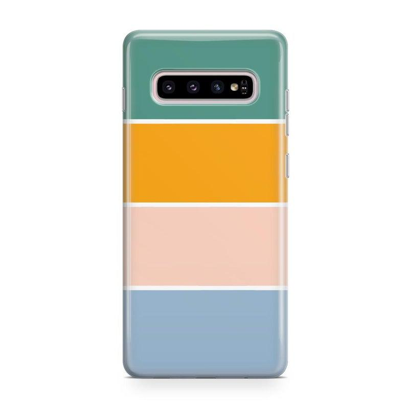 Paint The Town | Colorblock Stripes Case iPhone Case get.casely Classic Galaxy S10 Plus
