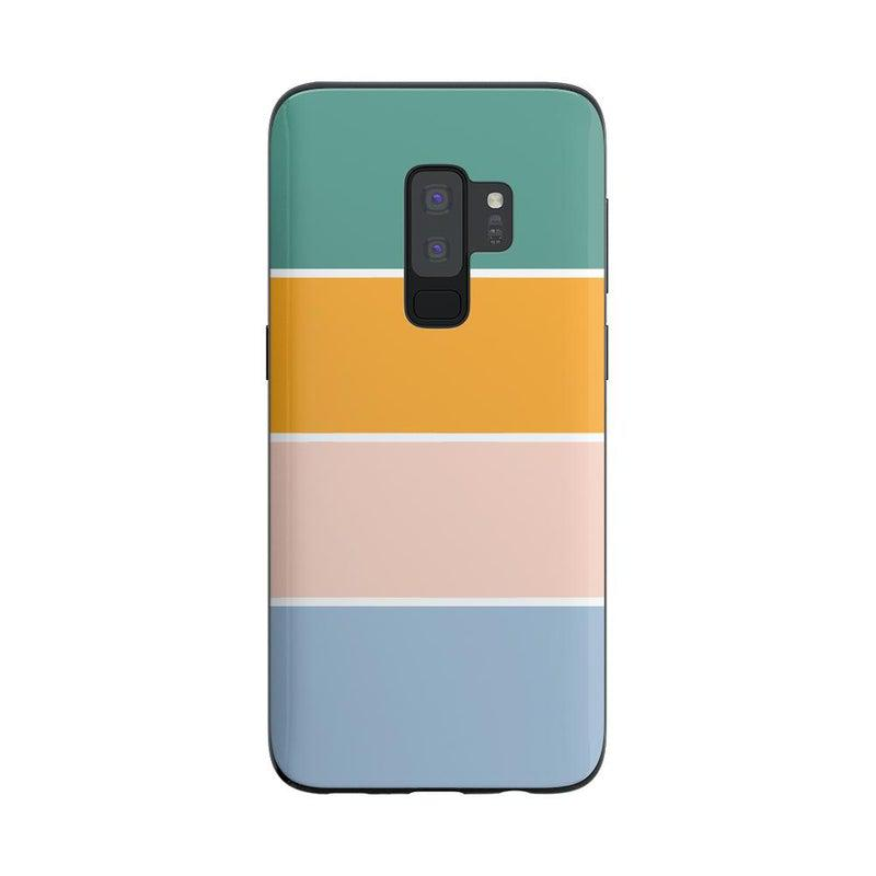 Paint The Town | Colorblock Stripes Case iPhone Case get.casely Classic Galaxy S9 Plus