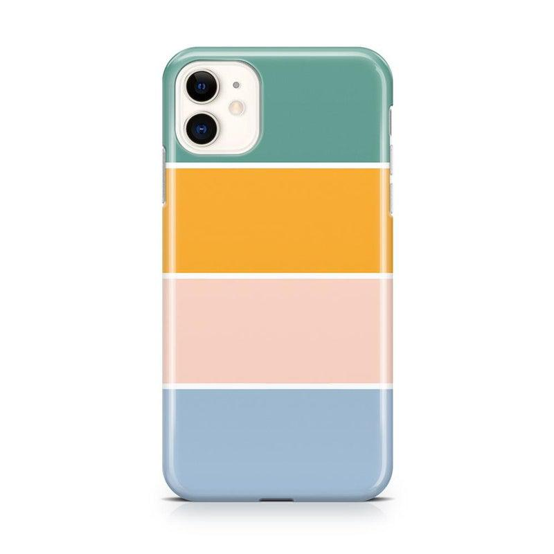 Paint The Town | Colorblock Stripes Case iPhone Case get.casely Classic iPhone 11