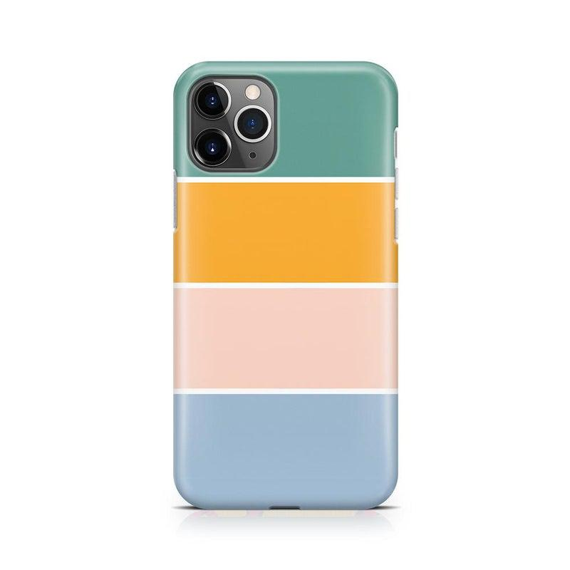 Paint The Town | Colorblock Stripes Case iPhone Case get.casely Classic iPhone 11 Pro Max