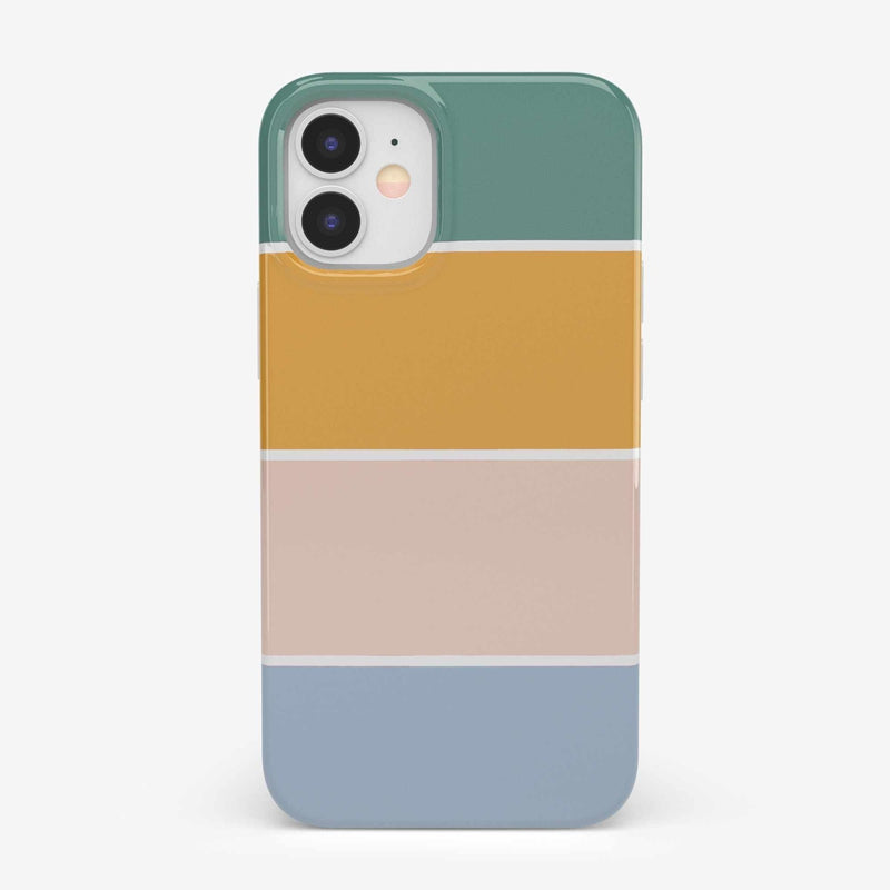 Paint The Town | Colorblock Stripes Case iPhone Case get.casely Classic iPhone 12 Mini