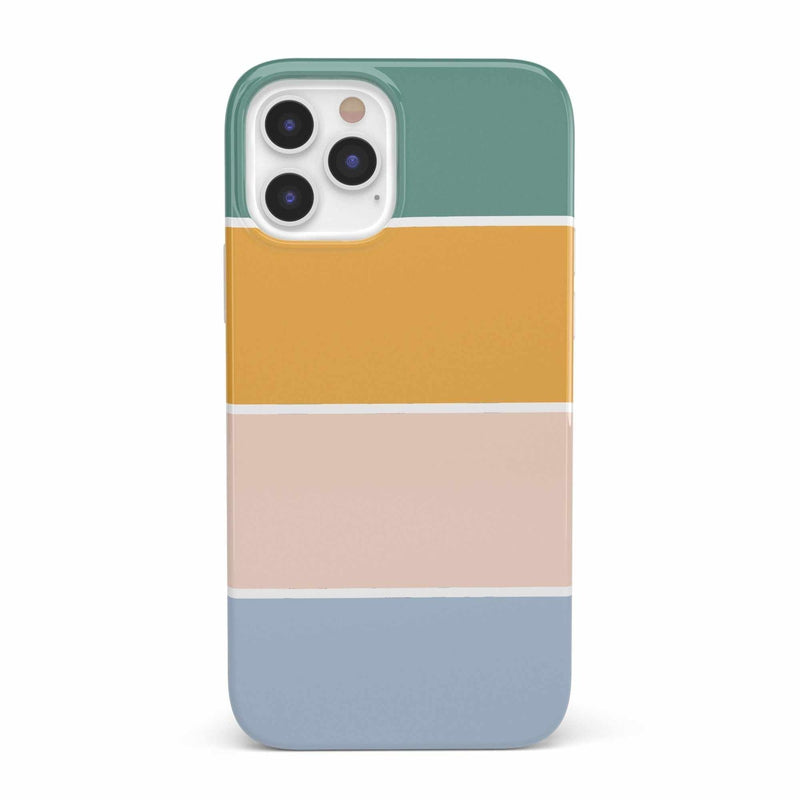 Paint The Town | Colorblock Stripes Case iPhone Case get.casely Classic iPhone 12 Pro
