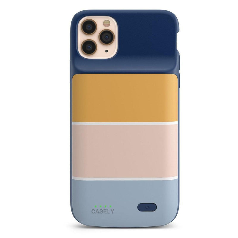Paint The Town | Colorblock Stripes Case iPhone Case get.casely Power 2.0 iPhone 11 Pro Max