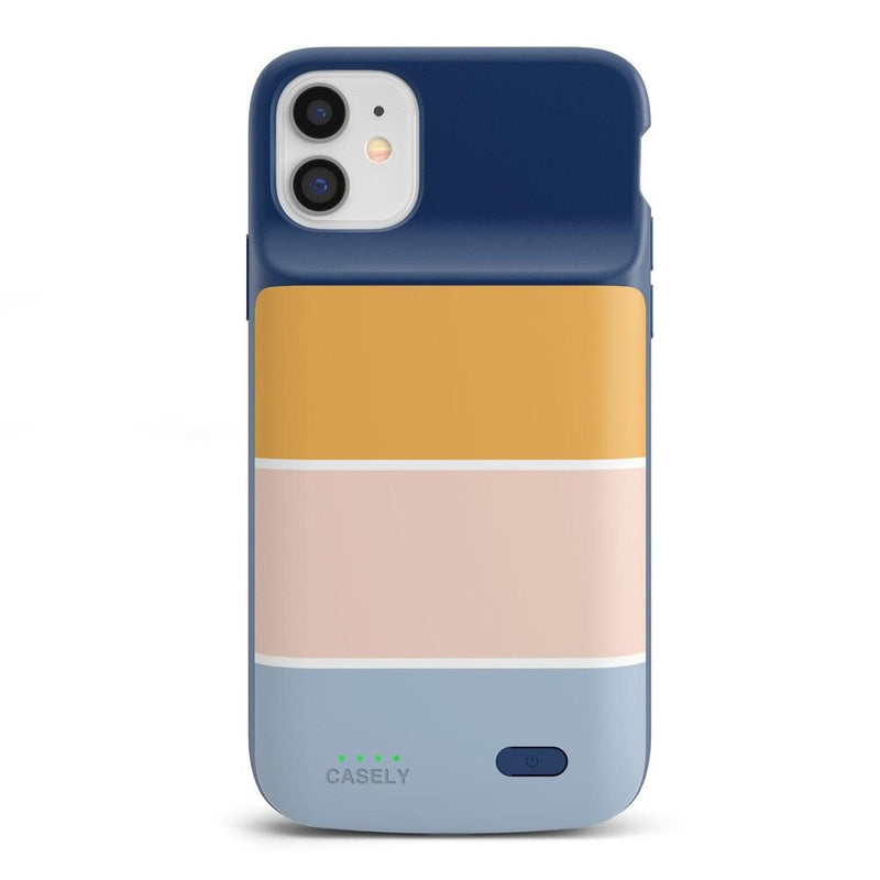 Paint The Town | Colorblock Stripes Case iPhone Case get.casely Power 2.0 iPhone 12 Mini