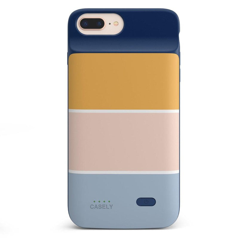 Paint The Town | Colorblock Stripes Case iPhone Case get.casely Power 2.0 iPhone 8 Plus