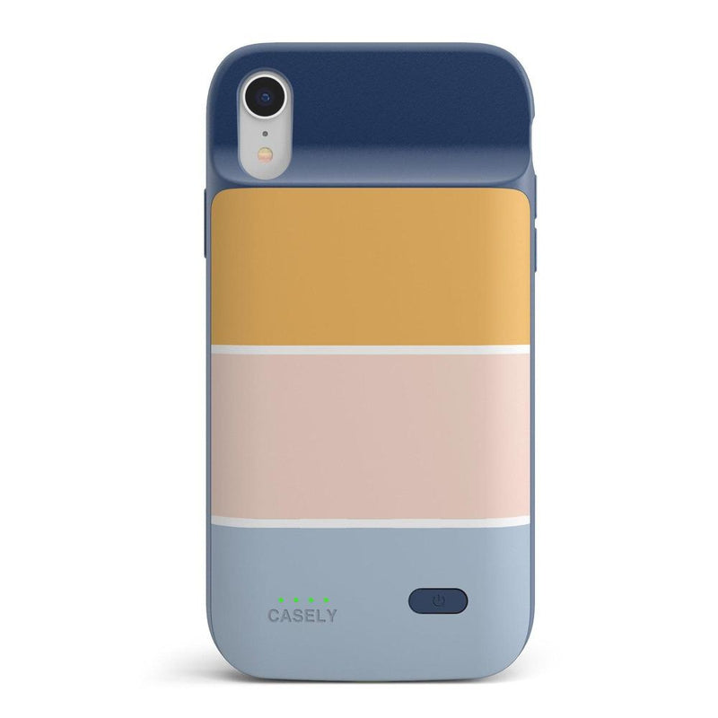 Paint The Town | Colorblock Stripes Case iPhone Case get.casely Power 2.0 iPhone XR