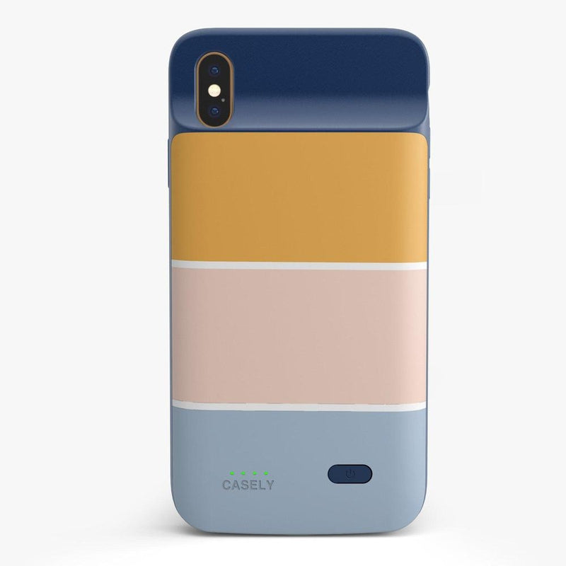 Paint The Town | Colorblock Stripes Case iPhone Case get.casely Power 2.0 iPhone XS Max