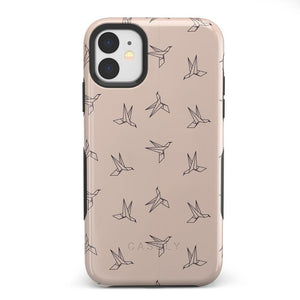 Paper Crane Origami iPhone Case iPhone Case Get.Casely Bold iPhone 11