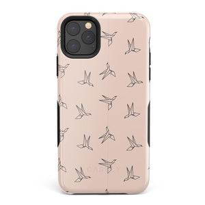 Paper Crane Origami iPhone Case iPhone Case Get.Casely Bold iPhone 11 Pro