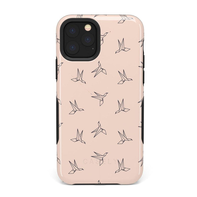 Paper Crane Origami iPhone Case iPhone Case Get.Casely Bold iPhone 11 Pro Max