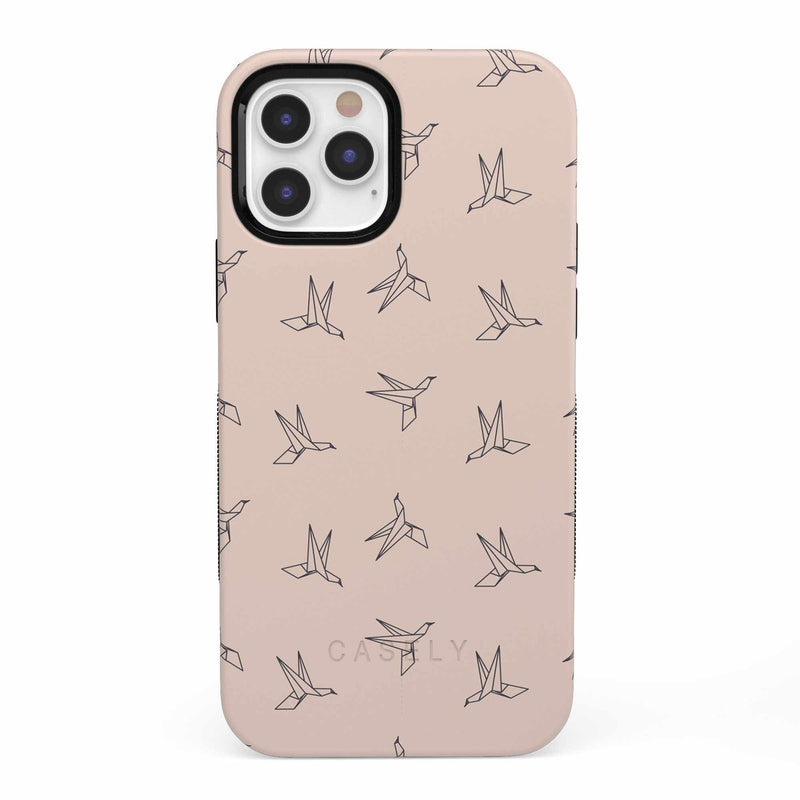 Paper Crane Origami iPhone Case iPhone Case get.casely Bold iPhone 12 Pro