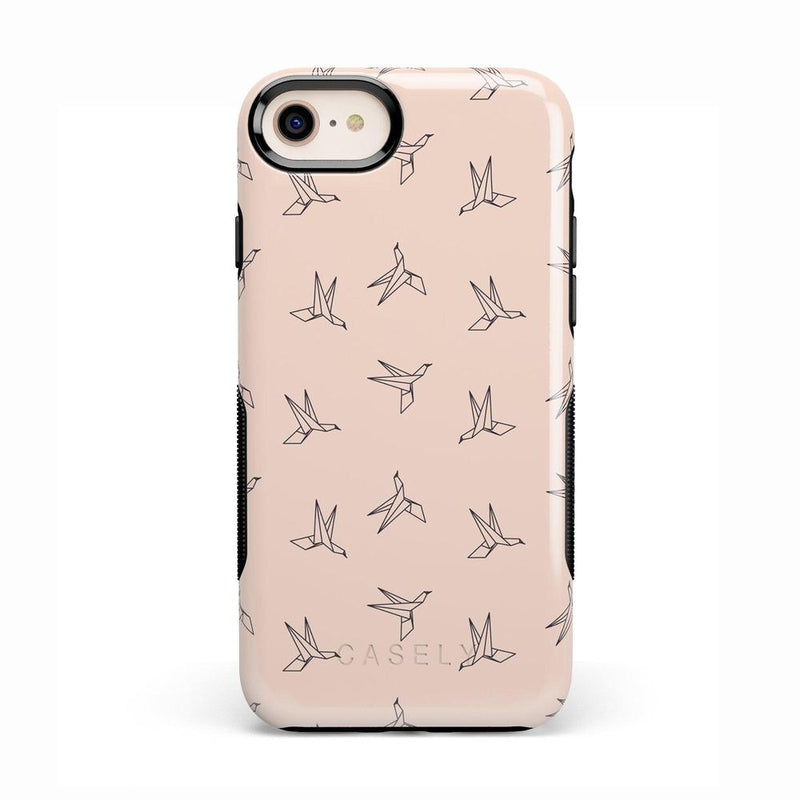 Paper Crane Origami iPhone Case iPhone Case Get.Casely Bold iPhone 8