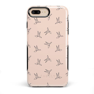 Paper Crane Origami iPhone Case iPhone Case Get.Casely Bold iPhone 8 Plus
