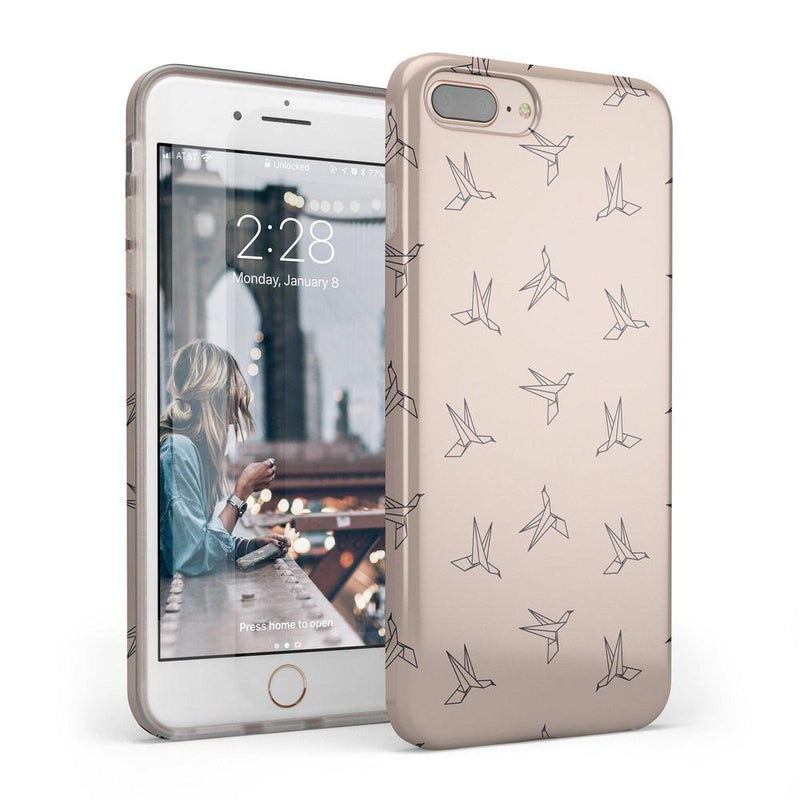 Paper Crane Origami iPhone Case iPhone Case Get.Casely Classic iPhone 6/6s Plus