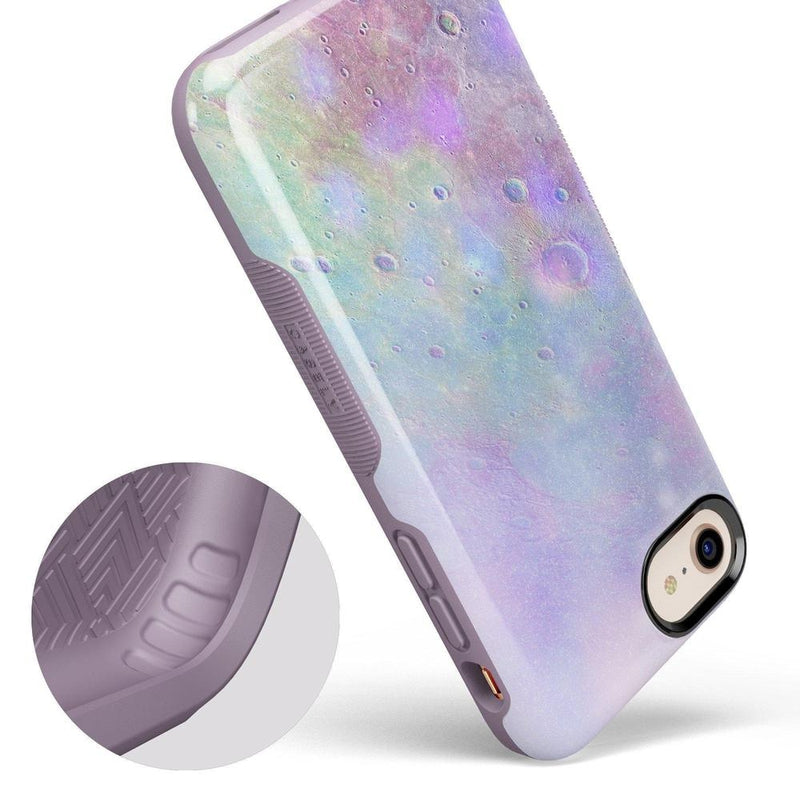 Pastel Marble Moon Case iPhone Case Get.Casely