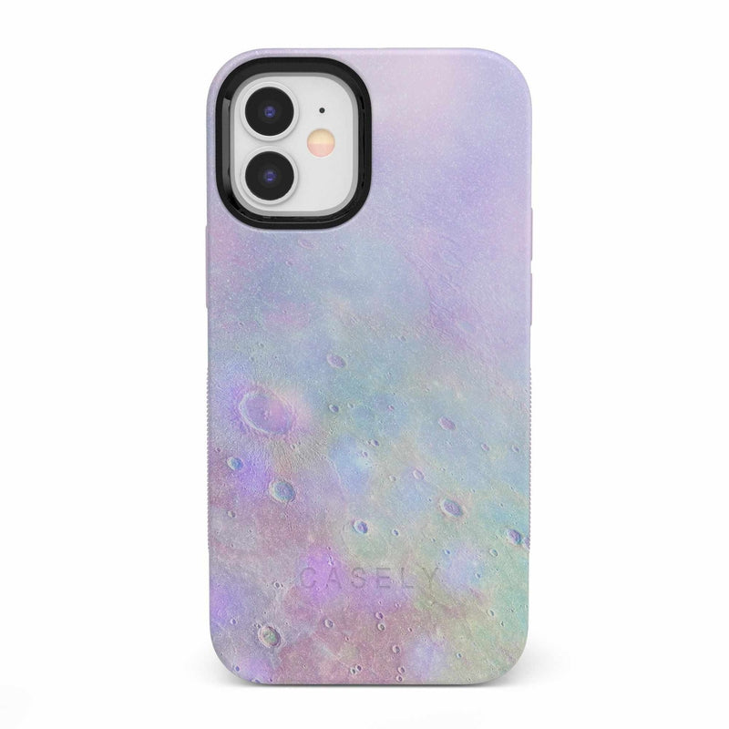 Pastel Marble Moon Case iPhone Case get.casely Bold iPhone 12 Mini