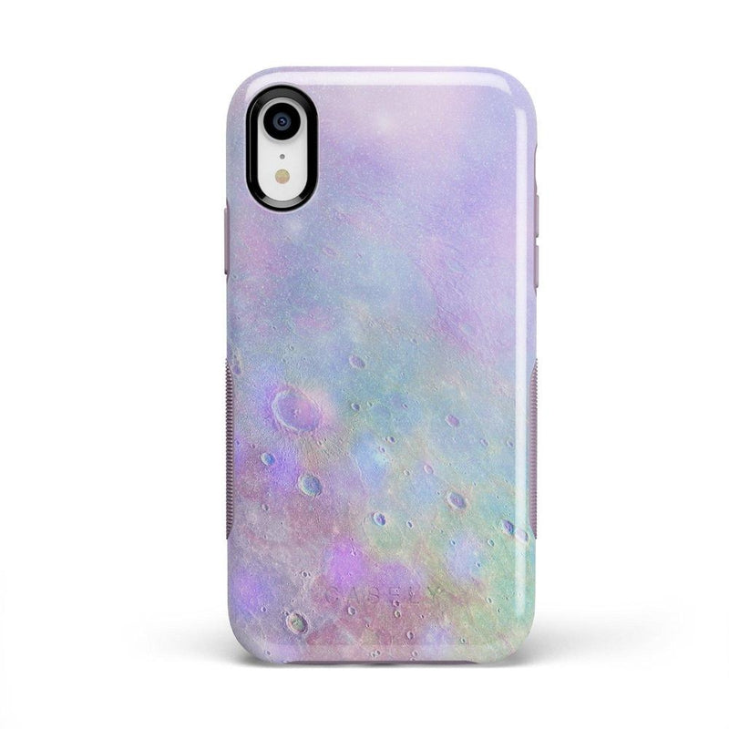 Pastel Marble Moon Case iPhone Case Get.Casely Bold iPhone XR