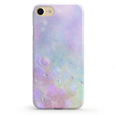 Tie Dying Over You Purple Marble iPhone Case