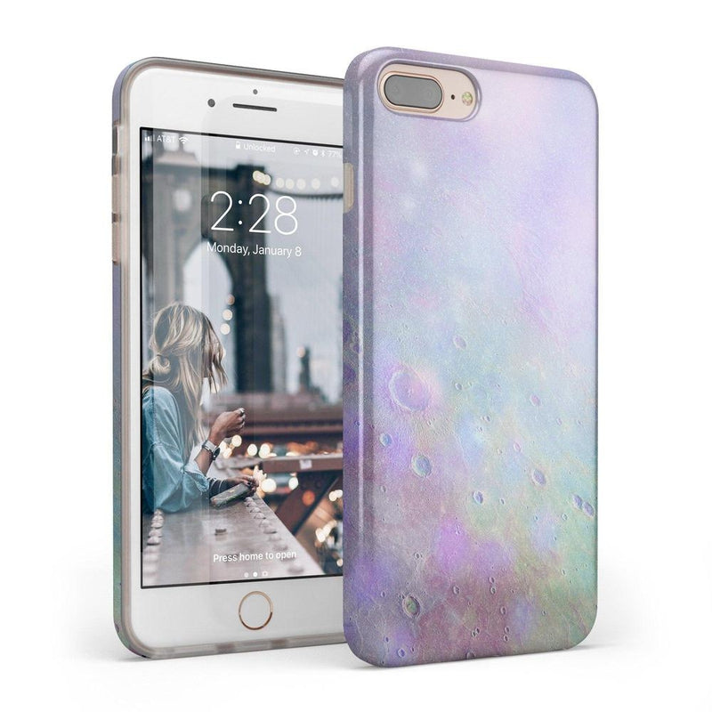 Pastel Marble Moon Case iPhone Case Get.Casely Classic iPhone 6/6s Plus