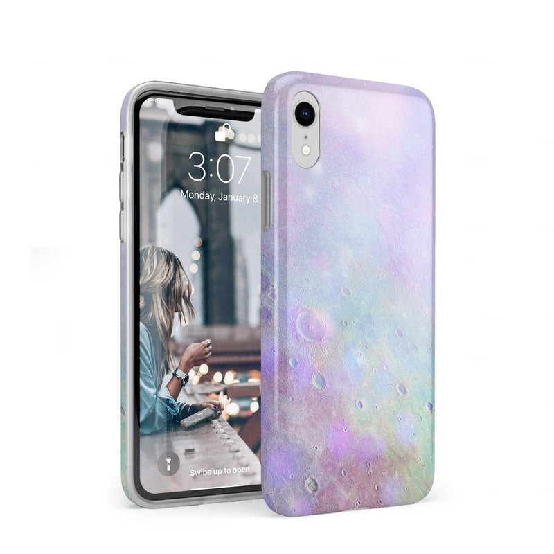 Pastel Marble Moon Case iPhone Case Get.Casely Classic iPhone XR