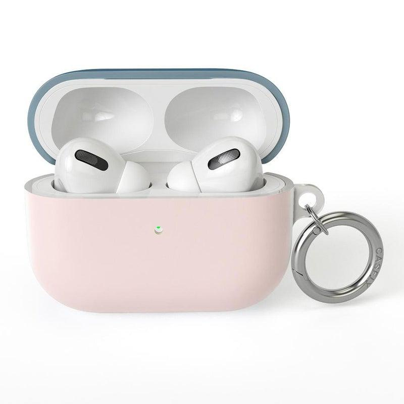 Pink & Navy Blue Colorblock AirPods Case AirPods Case CASELY AirPods Case