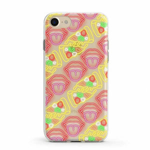 Pizza and Lips Clear Case iPhone Case Get.Casely Classic iPhone 6/6s