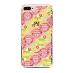 Pizza and Lips Clear Case iPhone Case Get.Casely Classic iPhone 6/6s Plus