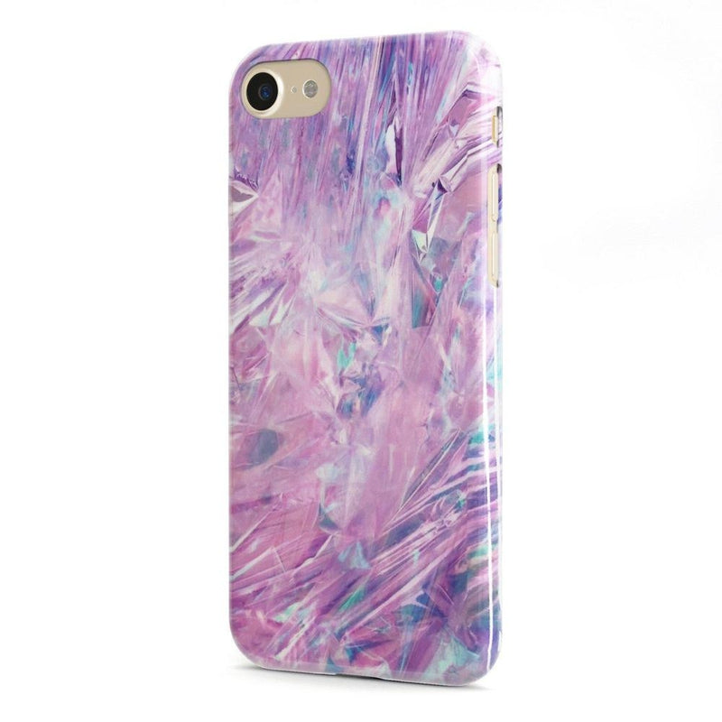 Purple Rain Marble iPhone Case iPhone Case Get.Casely