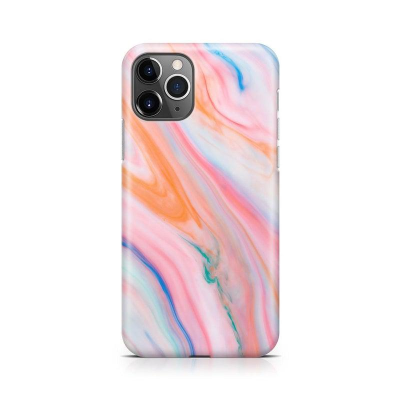 Rainbow Marble Swirl iPhone Case iPhone Case Get.Casely Classic iPhone 11 Pro