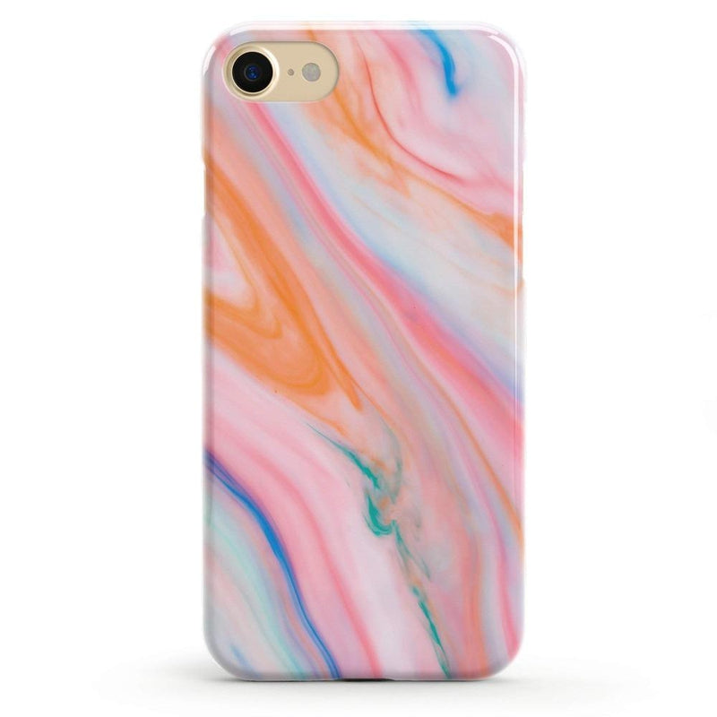 Rainbow Marble Swirl iPhone Case iPhone Case Get.Casely Classic iPhone 6/6s
