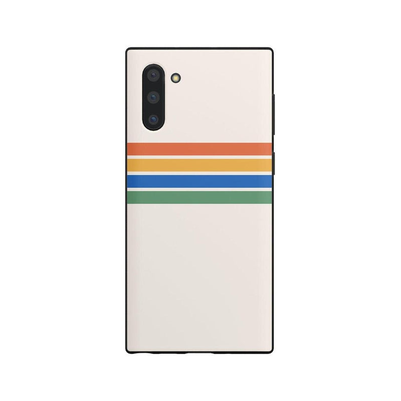 Rainbow Stripes Color Block Case iPhone Case Get.Casely Classic Galaxy Note 10