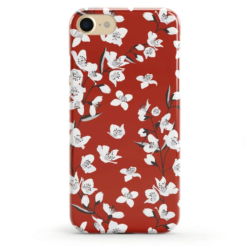 Red Flower Power Floral Case iPhone Case Get.Casely Classic iPhone 6/6s