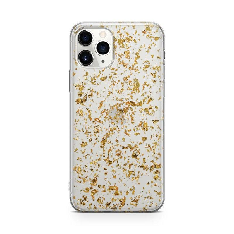 Rose and Gold Flaked Clear Case iPhone Case Get.Casely Classic iPhone 11 Pro