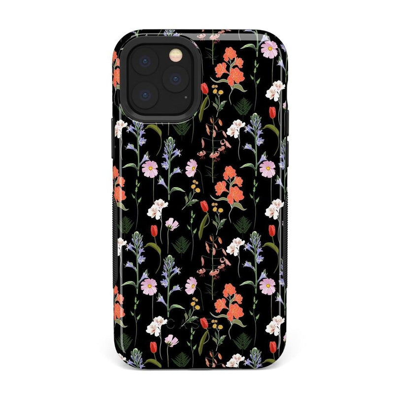 Secret Garden | Mixed Floral Case iPhone Case Get.Casely Bold iPhone 11 Pro Max