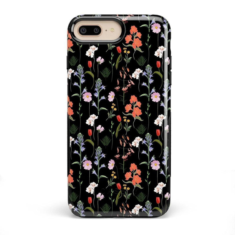 Secret Garden | Mixed Floral Case iPhone Case Get.Casely Bold iPhone 8 Plus