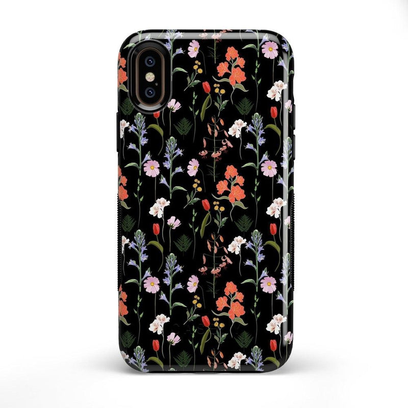 Secret Garden | Mixed Floral Case iPhone Case Get.Casely Bold iPhone X / XS